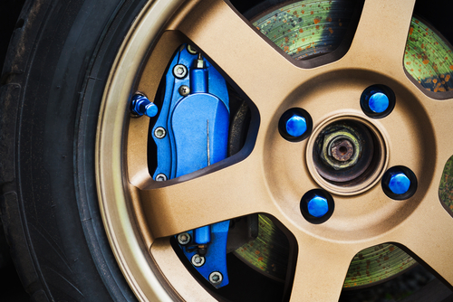 Anodised Wheel
