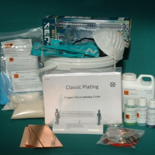 Bright Acid Copper Plating Kit