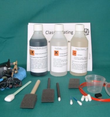Replica Chrome Brush Plating Kit